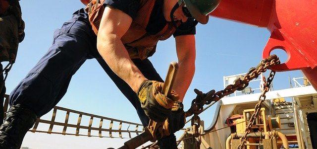 Bauarbeiter auf zeitarbeit